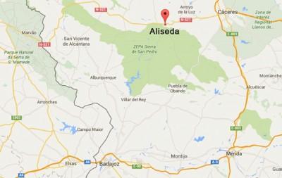 Mapa-restaurante-la-monteria-aliseda-caceres-extremadura-2
