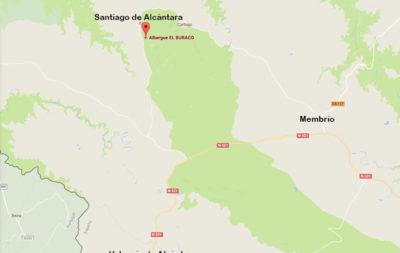 mapa-1-alojamientos-rurales-el-buraco-santiago-de-alcantara-caceres-extremadura