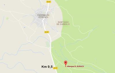 mapa-2-alojamientos-rurales-el-buraco-santiago-de-alcantara-caceres-extremadura